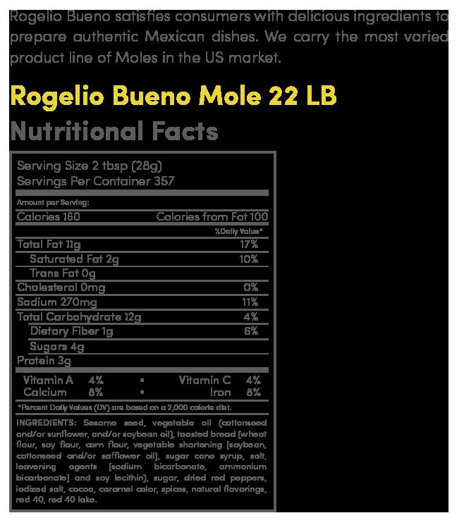 mole 22 lb