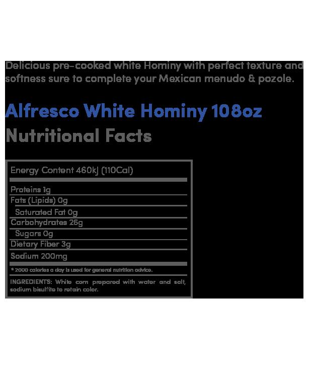 White Hominy